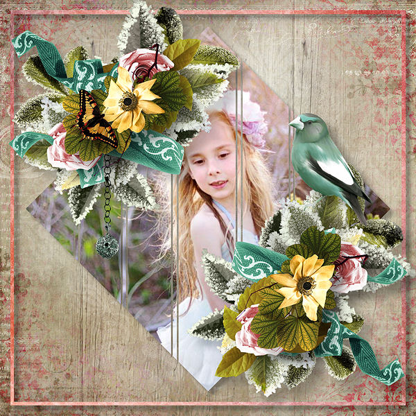 "Templates ""Captured Moment"" by Ilonka Scrapbook Designs"