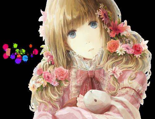 Render - Manga Girl [53]