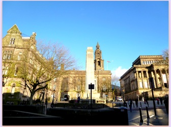 What a beautiful day in Preston! - 6th Febuary 2013