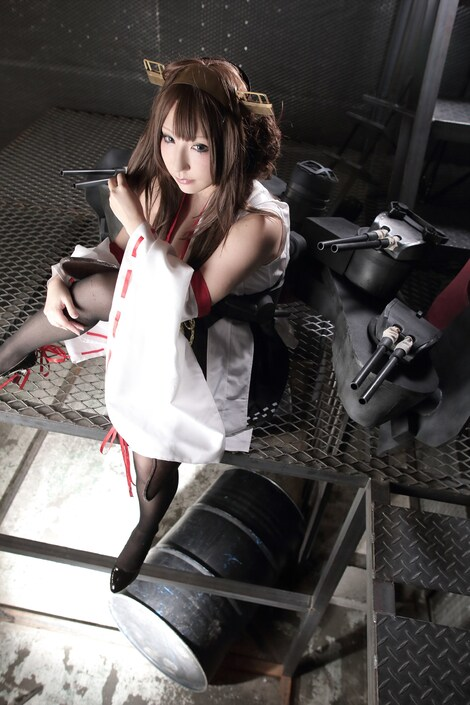 Models Cosplay : ( [Shooting Star's] - |COMICMARKET88 ( C88 )| Saku/サク : 祭 KANTAI COLLECTION )
