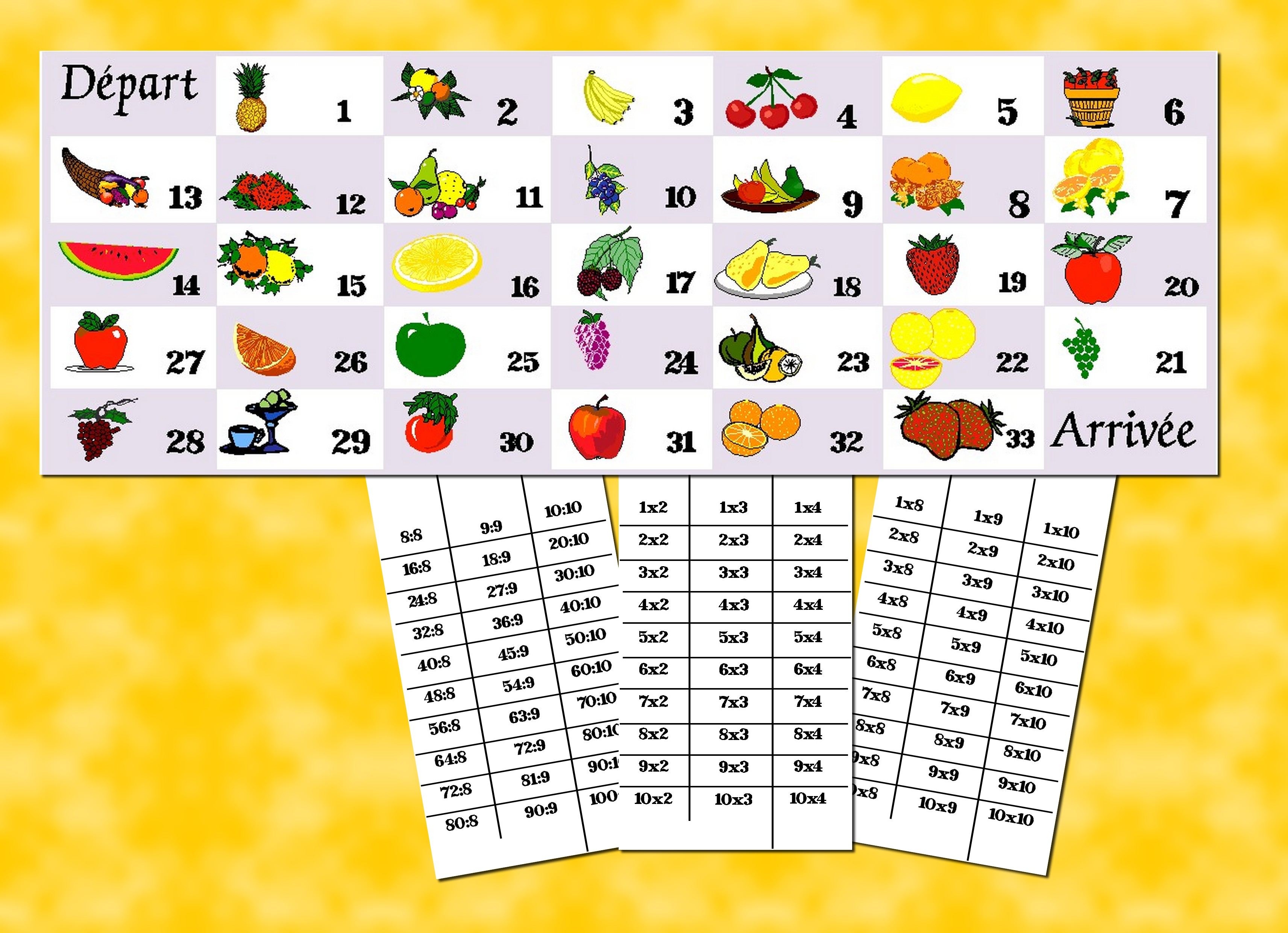 Tables de multiplication en chanson - Les tables de multiplication en ligne ...