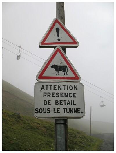 avant le tunnel de Bielsa