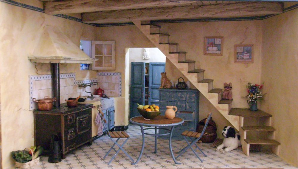 cuisine ancienne mon monde lilliputien. Black Bedroom Furniture Sets. Home Design Ideas