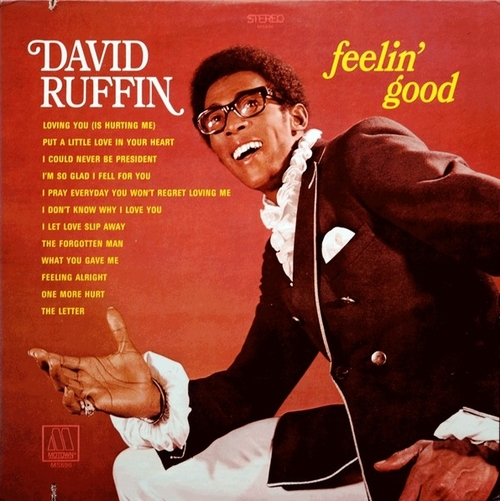"David Rufftn : Album "" Feelin' Good Motown Records MS-696 [ US ]"