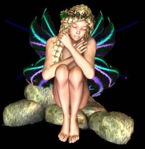 Tubes posés Elfes  / Fées et autres