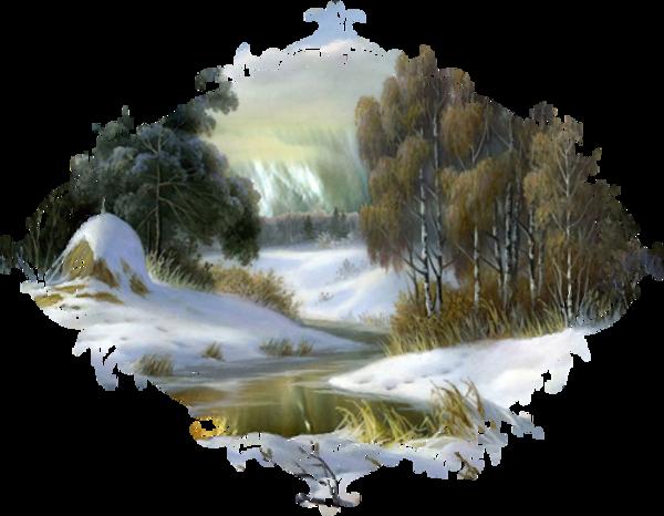 Paysage hivernal / 16