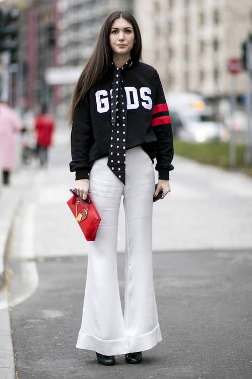 20 façons de porter le blanc cet hiver