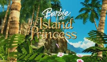 Logo de Barbie Princesse de L'Ile Merveilleuse