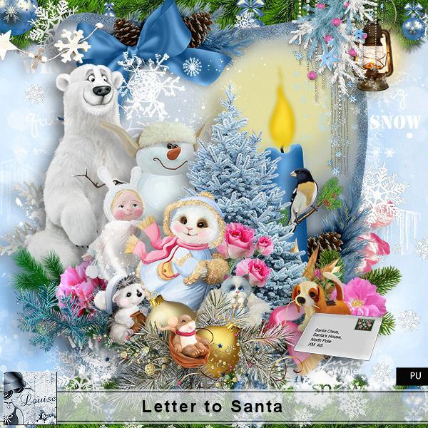 Letter to Santa Louis606