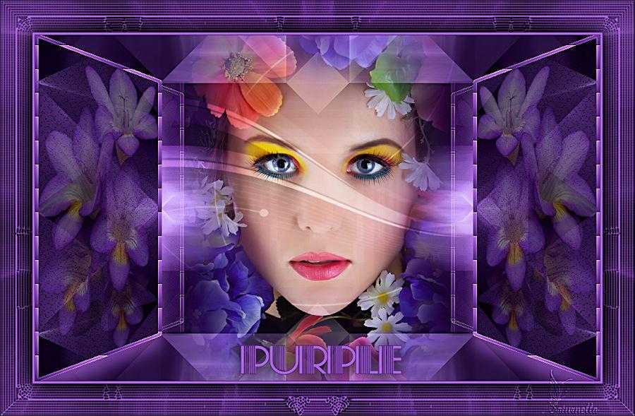 - Purple -