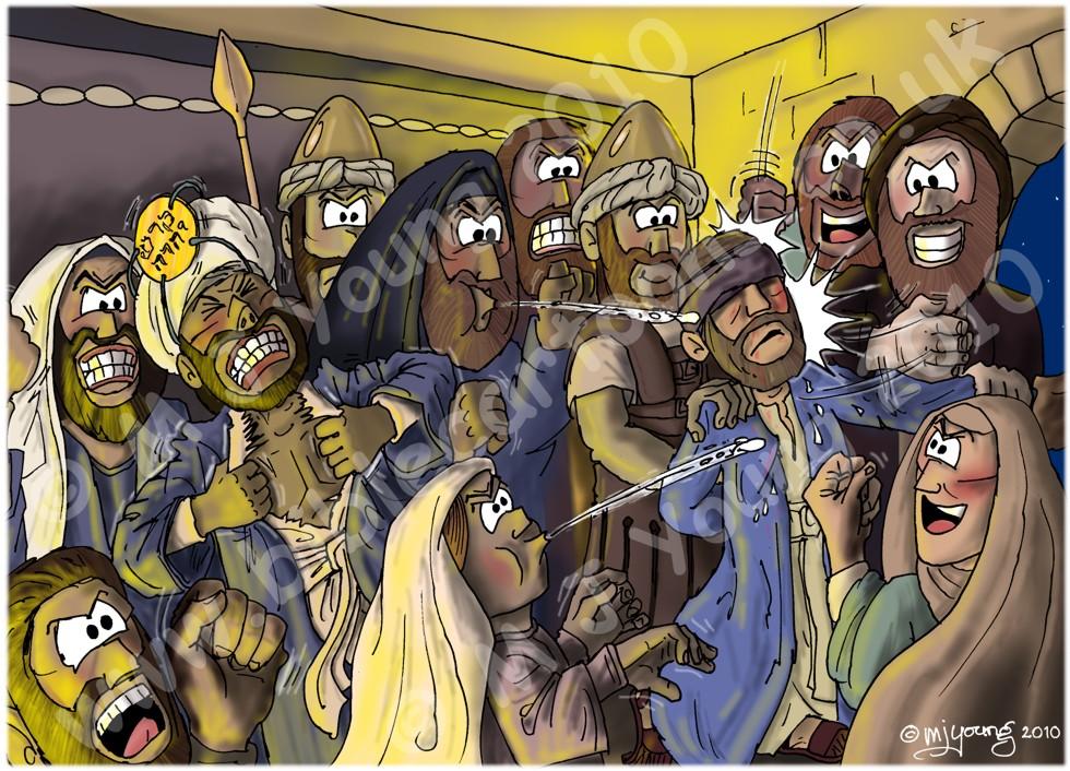 Mark 14 - Trial of Jesus - Scene 03 - Declaration