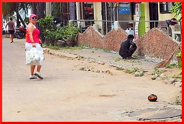 Photos de Thaïlande. Dongtan plage publique