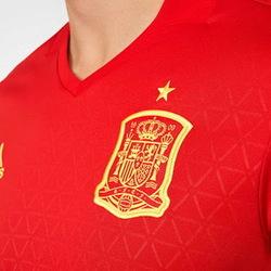 Nouveau Maillot de foot Espagne Euro 2016 Domicile