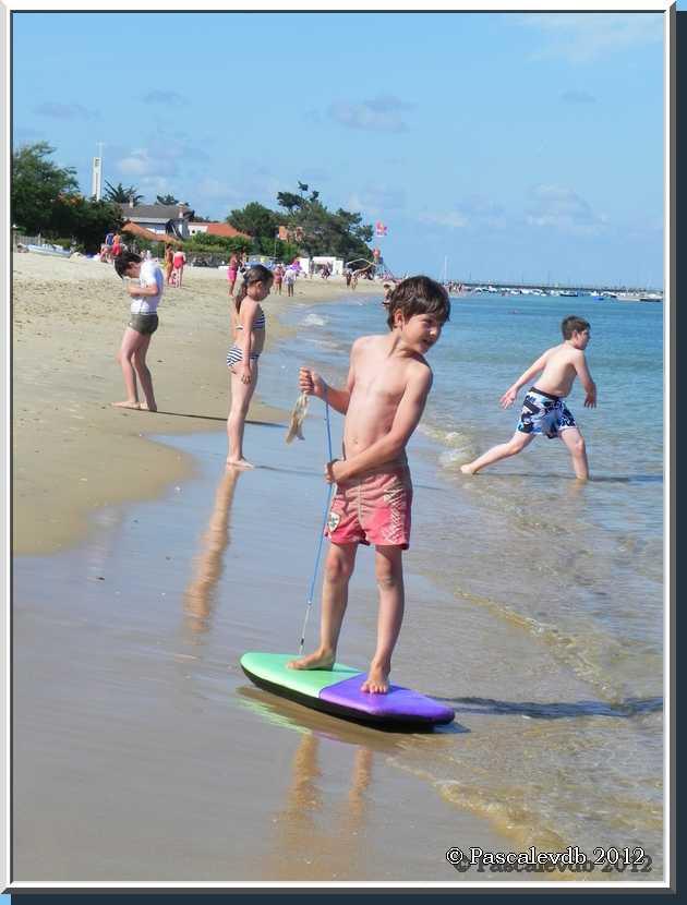 Sur la plage du Cap Ferret - 2/3