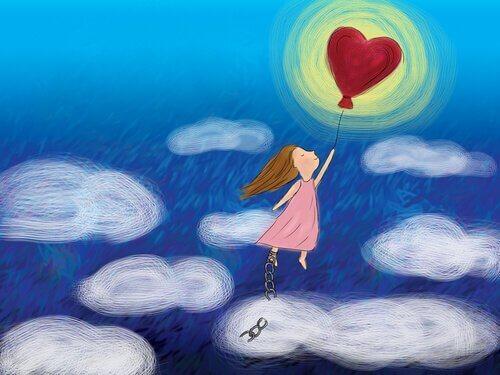 petite-fille-volant-ballon-ciel