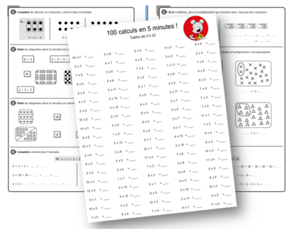 Tables de multiplication / sites