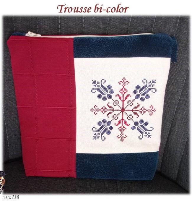 Trousse bi-color