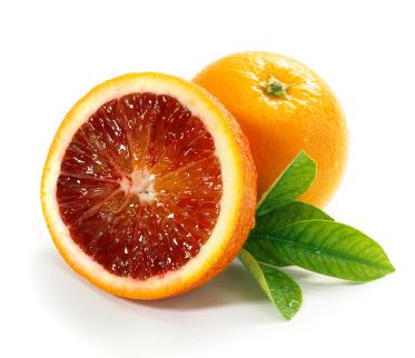 Rouge comme une orange