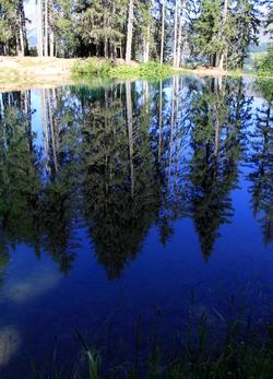 Lac des Evettes Crêt du Midi