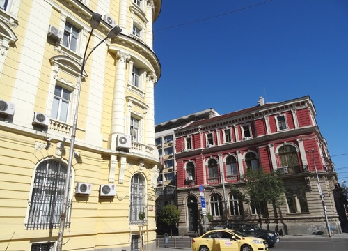 Sofia: autour du Théâtre Ivan Vasov et du jardin de l'indépendance (photos)