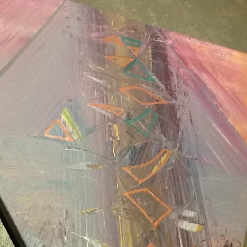 Aube ( Triangle côté 40 cm )