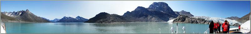 Glacier Sermitsiaq Sermia - Kangerlussuatsiaq Fjord (Evighedsfjorden) - Groenland
