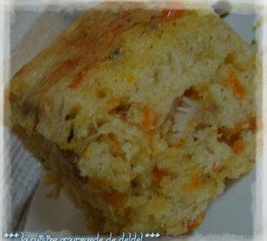 CAKE POULET CAROTTE