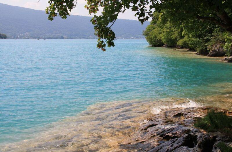 Le lac d'Annecy sauvage