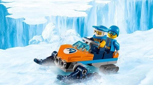 LEGO CITY - Exploration arctique (70 pièces)