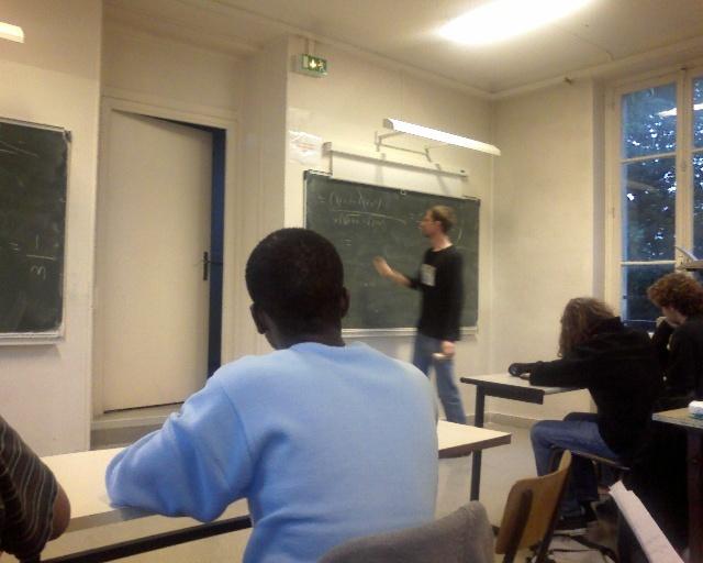 Cours de math !!! 25/09/07