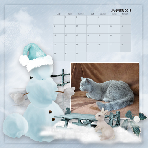 Grilles calendrier 2018