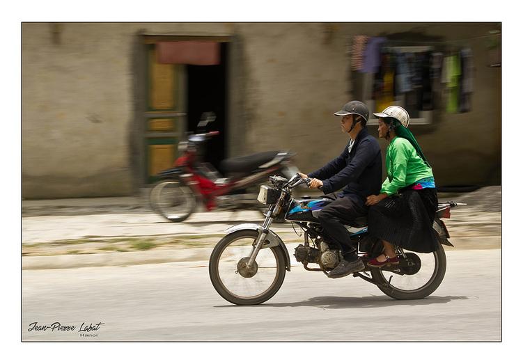 Le H'Mong de la moto