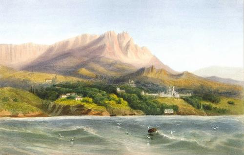 Peinture de :  Carlo  BOSSOLI