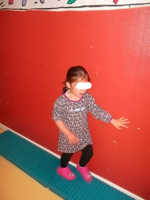 Notre premier parcours gymnique