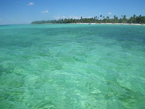 vers l'île de Saona en bateau rapide -8-