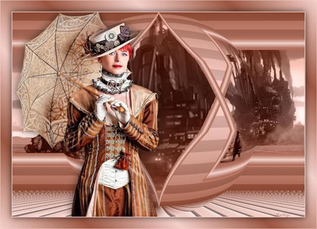 ST0001 - Tube femme steampunk