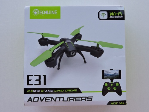 EACHINE - E31HW ADVENTURERS