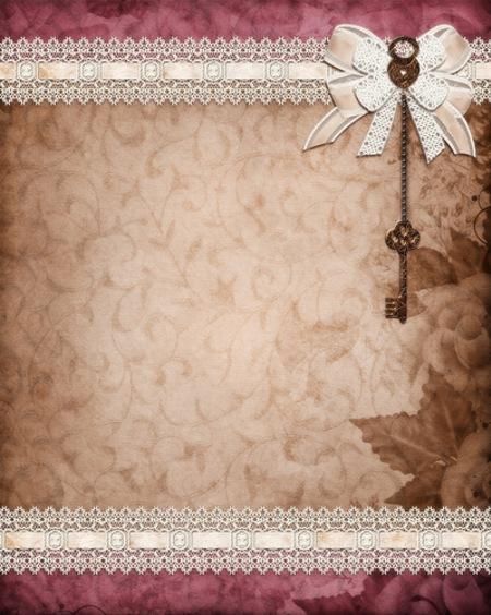 Fonds textures - thème rose style papier à lettre