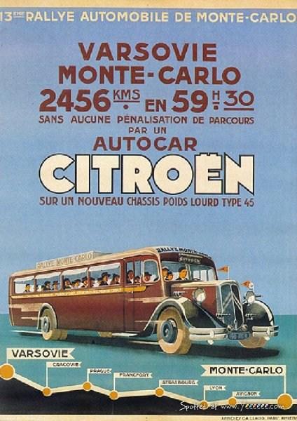Autocar Citroën T45, Francois Lecot
