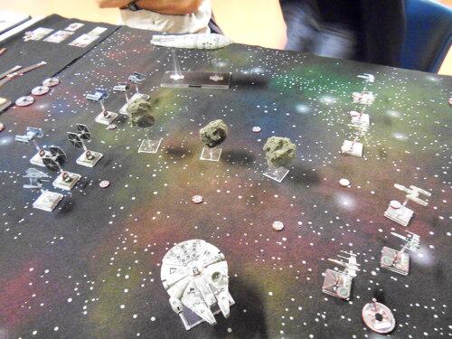 """X-wing : rapport de bataille du scénario """"Effacement de données"""""""