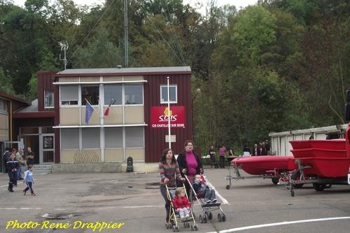 Portes ouvertes 2013 à la caserne des pompiers de Châtillon sur Seine