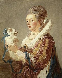 Jean-Honore-Fragonard-XX-Portrait-of-a-Woman-with-a-Dog