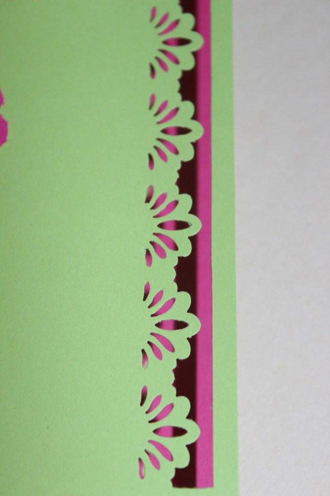 Un peu de carterie en rose et vert