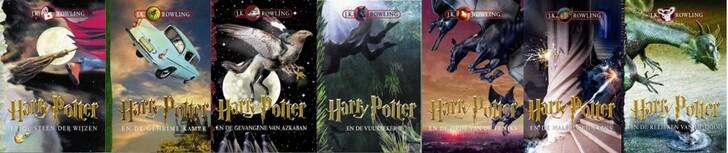 Harry Potter Couverture livre 06 03 Dutch 900x190 Les couvertures des livres Harry Potter par pays