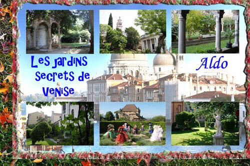 PPS Les jardins secrets de Venise