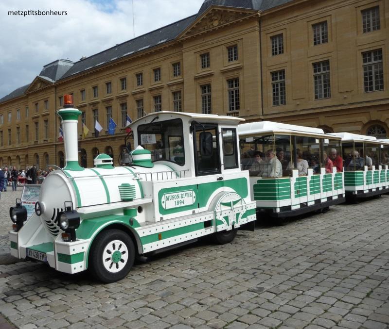 Le petit train de Metz....