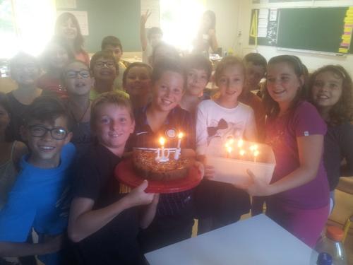 Les anniversaires (mois d'août, septembre, octobre) - CM1 F. Sourd