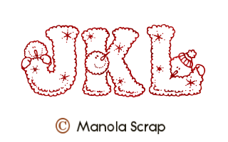 Alphabets de Noël 4
