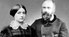 Bienheureux Louis Martin et Zélie Guérin, parents de sainte Thérèse de Lisieux (19ème s.)