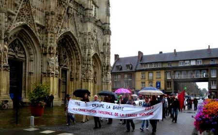 Discours de Nicole Aurigny,  vice-Présidente de la Libre Pensée  Au rassemblement en hommage au Chevalier de la Barre  -       Abbeville, le 2  Juillet 2017 -